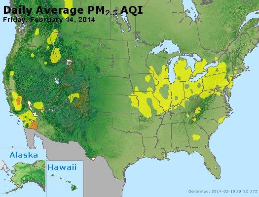 Peak Particles PM<sub>2.5</sub> (24-hour) - https://files.airnowtech.org/airnow/2014/20140214/peak_pm25_usa.jpg