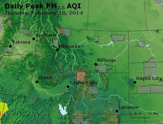Peak Particles PM2.5 (24-hour) - https://files.airnowtech.org/airnow/2014/20140218/peak_pm25_mt_id_wy.jpg