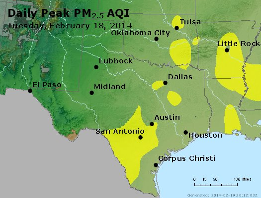 Peak Particles PM2.5 (24-hour) - https://files.airnowtech.org/airnow/2014/20140218/peak_pm25_tx_ok.jpg