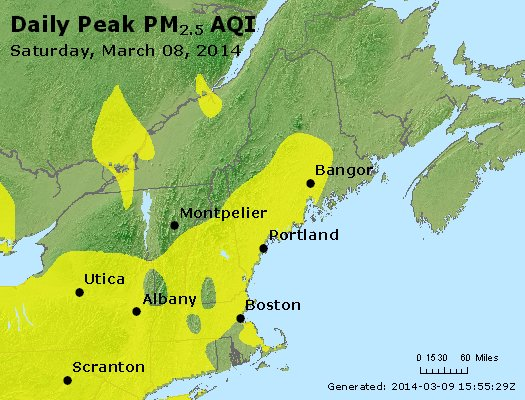 Peak Particles PM<sub>2.5</sub> (24-hour) - https://files.airnowtech.org/airnow/2014/20140308/peak_pm25_vt_nh_ma_ct_ri_me.jpg
