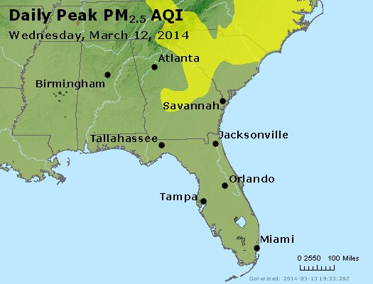 Peak Particles PM2.5 (24-hour) - https://files.airnowtech.org/airnow/2014/20140312/peak_pm25_al_ga_fl.jpg