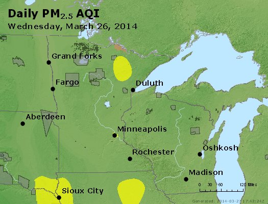 Peak Particles PM2.5 (24-hour) - https://files.airnowtech.org/airnow/2014/20140326/peak_pm25_mn_wi.jpg