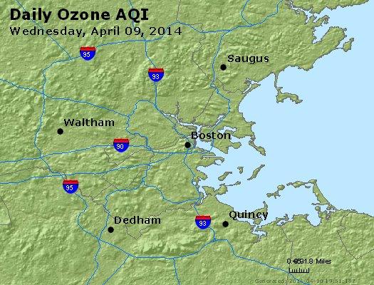 Peak Ozone (8-hour) - https://files.airnowtech.org/airnow/2014/20140409/peak_o3_boston_ma.jpg