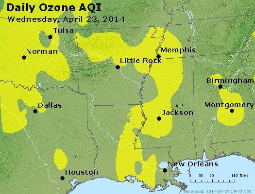 Peak Ozone (8-hour) - https://files.airnowtech.org/airnow/2014/20140423/peak_o3_ar_la_ms.jpg