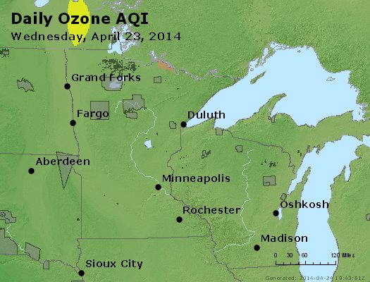 Peak Ozone (8-hour) - https://files.airnowtech.org/airnow/2014/20140423/peak_o3_mn_wi.jpg