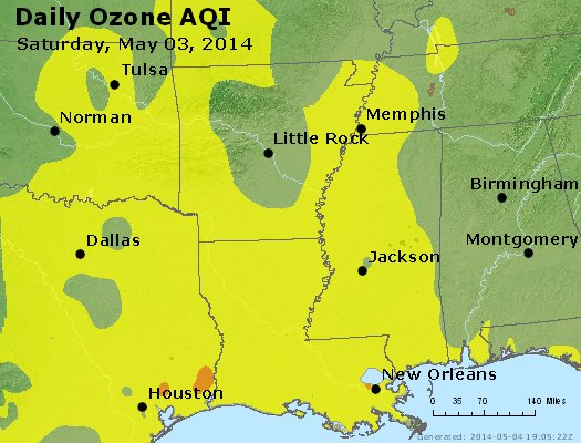 Peak Ozone (8-hour) - https://files.airnowtech.org/airnow/2014/20140503/peak_o3_ar_la_ms.jpg