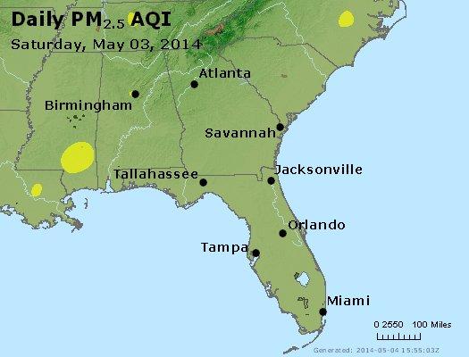 Peak Particles PM2.5 (24-hour) - https://files.airnowtech.org/airnow/2014/20140503/peak_pm25_al_ga_fl.jpg