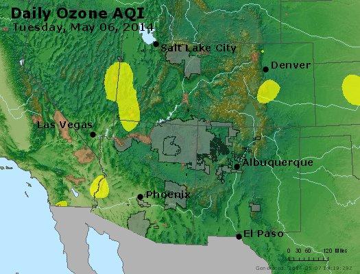 Peak Ozone (8-hour) - https://files.airnowtech.org/airnow/2014/20140506/peak_o3_co_ut_az_nm.jpg