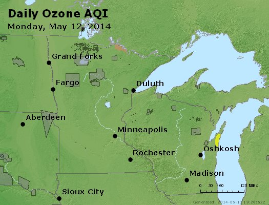 Peak Ozone (8-hour) - https://files.airnowtech.org/airnow/2014/20140512/peak_o3_mn_wi.jpg