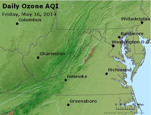 Peak Ozone (8-hour) - https://files.airnowtech.org/airnow/2014/20140516/peak_o3_va_wv_md_de_dc.jpg