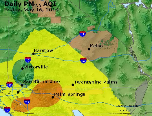 Peak Particles PM<sub>2.5</sub> (24-hour) - https://files.airnowtech.org/airnow/2014/20140516/peak_pm25_sanbernardino_ca.jpg