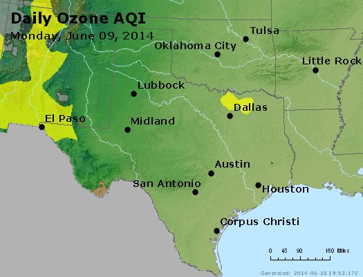 Peak Ozone (8-hour) - https://files.airnowtech.org/airnow/2014/20140609/peak_o3_tx_ok.jpg