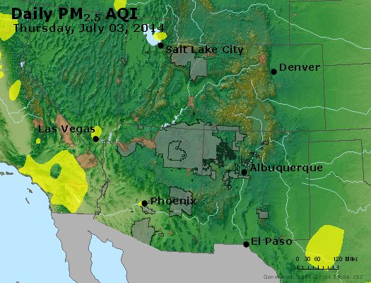Peak Particles PM2.5 (24-hour) - https://files.airnowtech.org/airnow/2014/20140703/peak_pm25_co_ut_az_nm.jpg