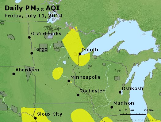 Peak Particles PM2.5 (24-hour) - https://files.airnowtech.org/airnow/2014/20140711/peak_pm25_mn_wi.jpg