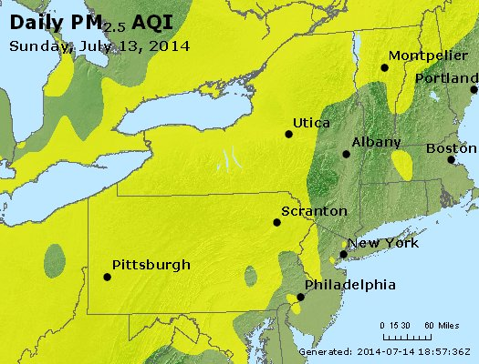 Peak Particles PM2.5 (24-hour) - https://files.airnowtech.org/airnow/2014/20140713/peak_pm25_ny_pa_nj.jpg