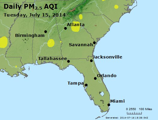 Peak Particles PM2.5 (24-hour) - https://files.airnowtech.org/airnow/2014/20140715/peak_pm25_al_ga_fl.jpg