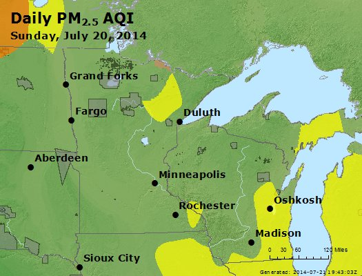 Peak Particles PM2.5 (24-hour) - https://files.airnowtech.org/airnow/2014/20140720/peak_pm25_mn_wi.jpg