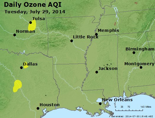Peak Ozone (8-hour) - https://files.airnowtech.org/airnow/2014/20140729/peak_o3_ar_la_ms.jpg