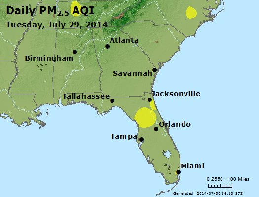 Peak Particles PM2.5 (24-hour) - https://files.airnowtech.org/airnow/2014/20140729/peak_pm25_al_ga_fl.jpg