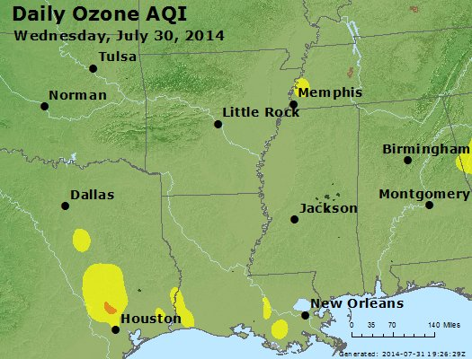 Peak Ozone (8-hour) - https://files.airnowtech.org/airnow/2014/20140730/peak_o3_ar_la_ms.jpg