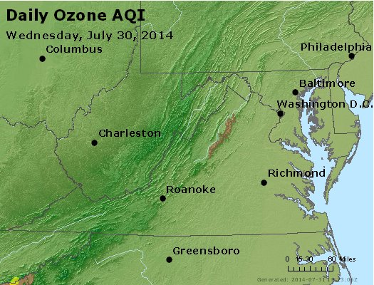Peak Ozone (8-hour) - https://files.airnowtech.org/airnow/2014/20140730/peak_o3_va_wv_md_de_dc.jpg