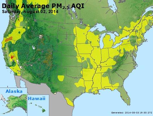 Peak Particles PM2.5 (24-hour) - https://files.airnowtech.org/airnow/2014/20140802/peak_pm25_usa.jpg