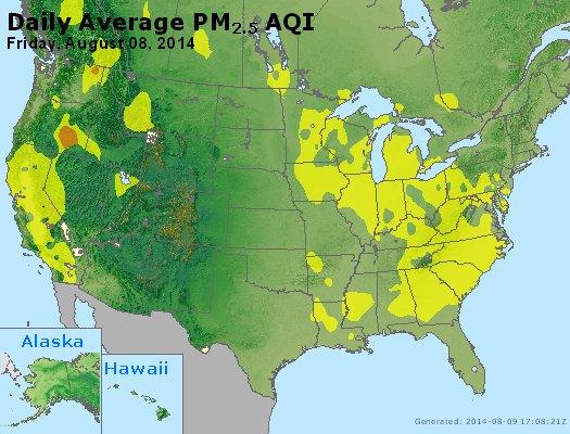 Peak Particles PM2.5 (24-hour) - https://files.airnowtech.org/airnow/2014/20140808/peak_pm25_usa.jpg