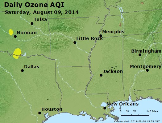 Peak Ozone (8-hour) - https://files.airnowtech.org/airnow/2014/20140809/peak_o3_ar_la_ms.jpg