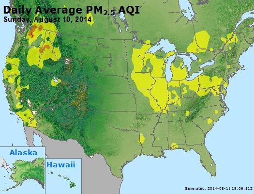Peak Particles PM2.5 (24-hour) - https://files.airnowtech.org/airnow/2014/20140810/peak_pm25_usa.jpg