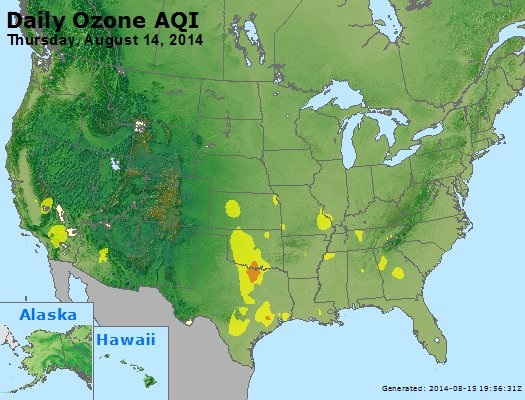 Peak Ozone (8-hour) - https://files.airnowtech.org/airnow/2014/20140814/peak_o3_usa.jpg