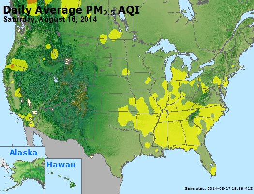 Peak Particles PM2.5 (24-hour) - https://files.airnowtech.org/airnow/2014/20140816/peak_pm25_usa.jpg