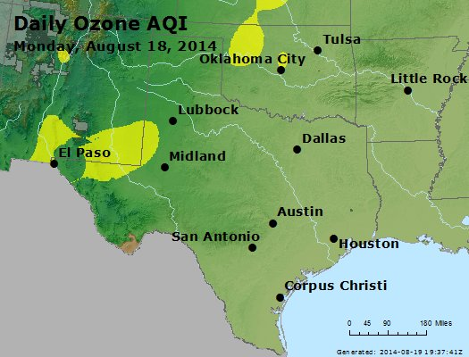 Peak Ozone (8-hour) - https://files.airnowtech.org/airnow/2014/20140818/peak_o3_tx_ok.jpg