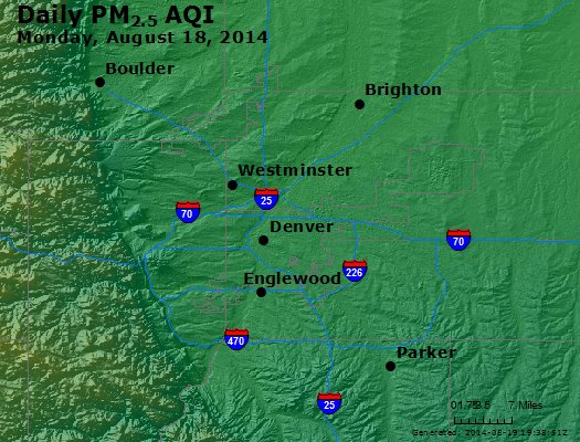 Peak Particles PM<sub>2.5</sub> (24-hour) - https://files.airnowtech.org/airnow/2014/20140818/peak_pm25_denver_co.jpg
