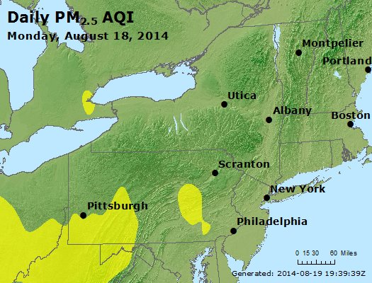 Peak Particles PM<sub>2.5</sub> (24-hour) - https://files.airnowtech.org/airnow/2014/20140818/peak_pm25_ny_pa_nj.jpg