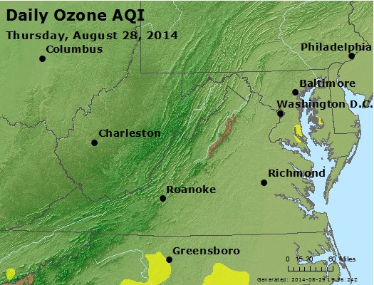 Peak Ozone (8-hour) - https://files.airnowtech.org/airnow/2014/20140828/peak_o3_va_wv_md_de_dc.jpg