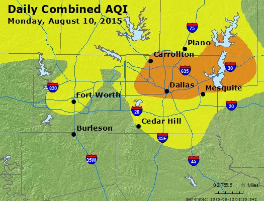 local air pollutants in dallas texas List of each local air pollution control program in texas, with addresses and phone numbers.