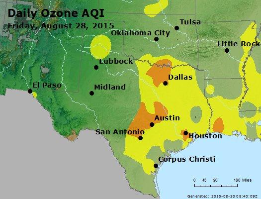 Peak Ozone (8-hour) - https://files.airnowtech.org/airnow/2015/20150828/peak_o3_tx_ok.jpg