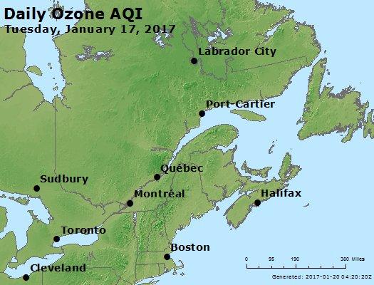 Peak Ozone (8-hour) - https://files.airnowtech.org/airnow/2017/20170117/peak_o3_eastern_canada.jpg