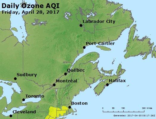 Peak Ozone (8-hour) - https://files.airnowtech.org/airnow/2017/20170428/peak_o3_eastern_canada.jpg