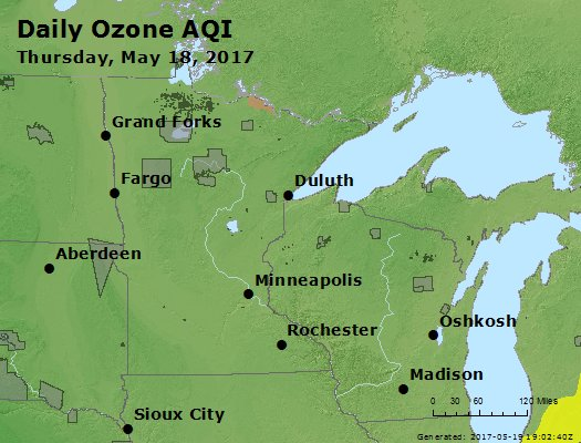 Peak Ozone (8-hour) - https://files.airnowtech.org/airnow/2017/20170518/peak_o3_mn_wi.jpg