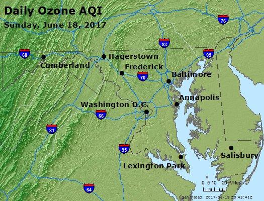 Peak Ozone (8-hour) - https://files.airnowtech.org/airnow/2017/20170618/peak_o3_maryland.jpg
