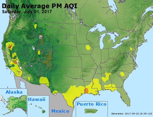 Peak Particles PM2.5 (24-hour) - https://files.airnowtech.org/airnow/2017/20170701/peak_pm25_usa.jpg