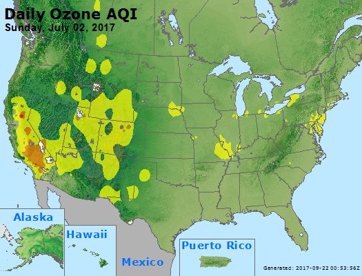 Peak Ozone (8-hour) - https://files.airnowtech.org/airnow/2017/20170702/peak_o3_usa.jpg