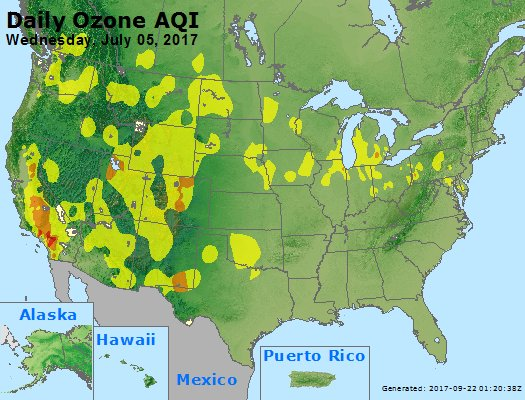 Peak Ozone (8-hour) - https://files.airnowtech.org/airnow/2017/20170705/peak_o3_usa.jpg