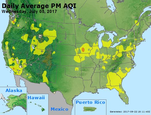 Peak Particles PM2.5 (24-hour) - https://files.airnowtech.org/airnow/2017/20170705/peak_pm25_usa.jpg