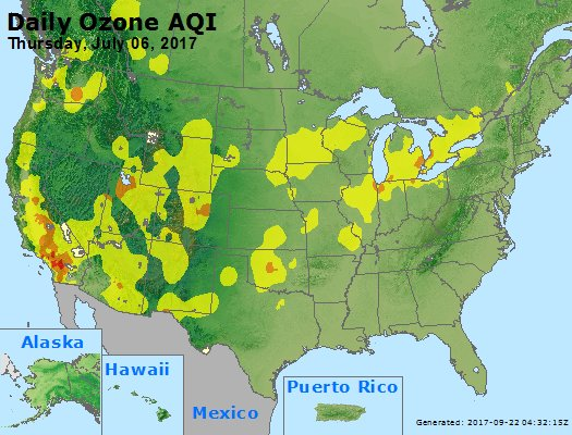Peak Ozone (8-hour) - https://files.airnowtech.org/airnow/2017/20170706/peak_o3_usa.jpg
