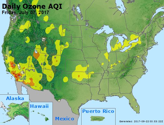 Peak Ozone (8-hour) - https://files.airnowtech.org/airnow/2017/20170707/peak_o3_usa.jpg