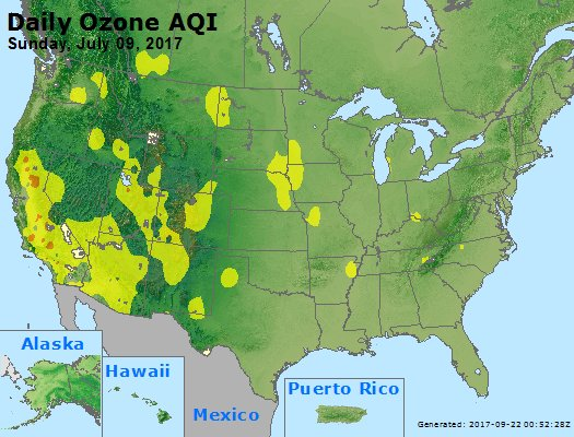 Peak Ozone (8-hour) - https://files.airnowtech.org/airnow/2017/20170709/peak_o3_usa.jpg