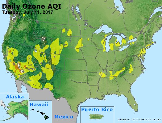 Peak Ozone (8-hour) - https://files.airnowtech.org/airnow/2017/20170711/peak_o3_usa.jpg