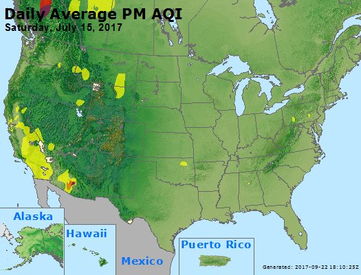 Peak Particles PM2.5 (24-hour) - https://files.airnowtech.org/airnow/2017/20170715/peak_pm25_usa.jpg